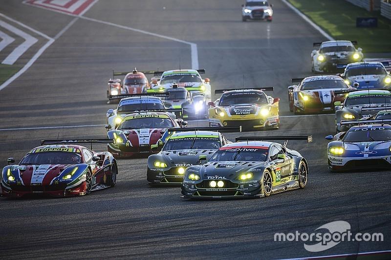 WEC GTE class upgraded to world championship status