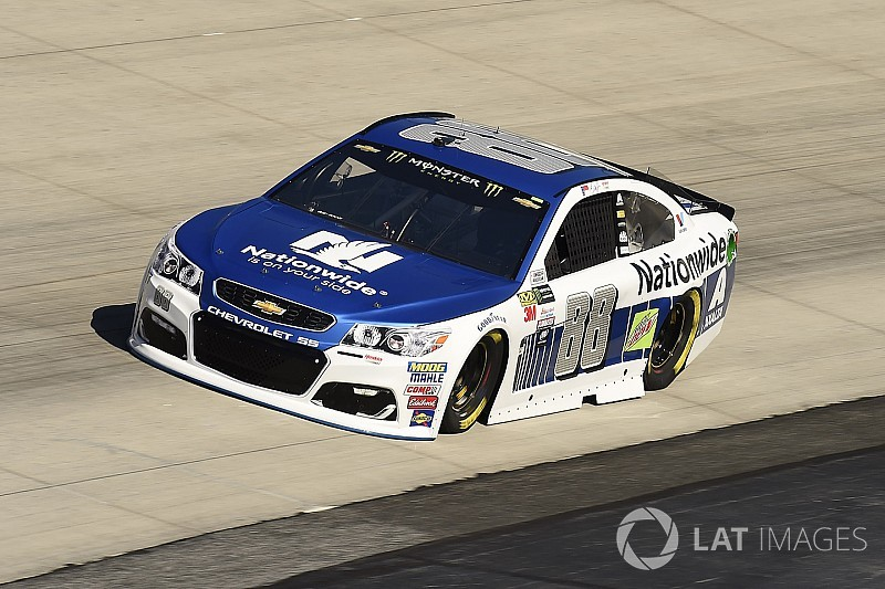 """Dale Jr. hit with practice penalty: """"We'll just have to do our time"""""""