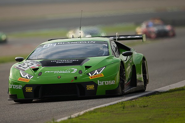 Grasser Lamborghini trio snatch Blancpain Endurance title