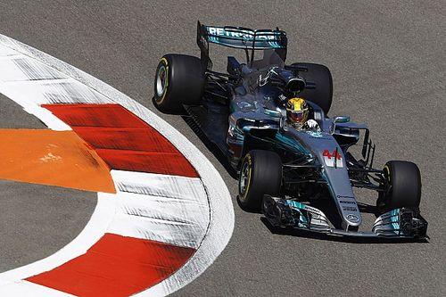 """Mercedes bei F1 in Sochi in Reihe 2: Hamilton erwartet """"echtes Rennen"""""""