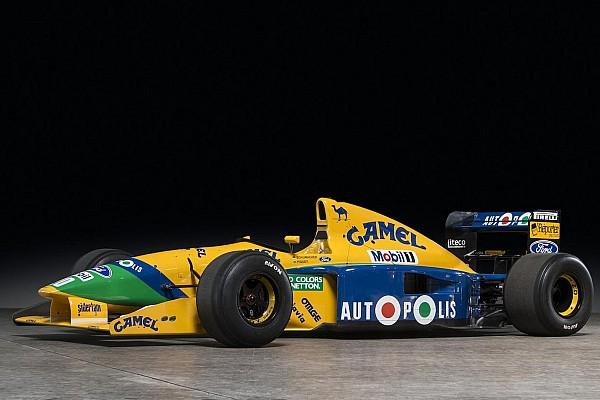 Benetton Шумахера выставят на аукцион