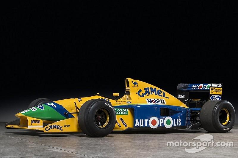 A subasta el Benetton Ford de 1991 de Schumacher y Piquet