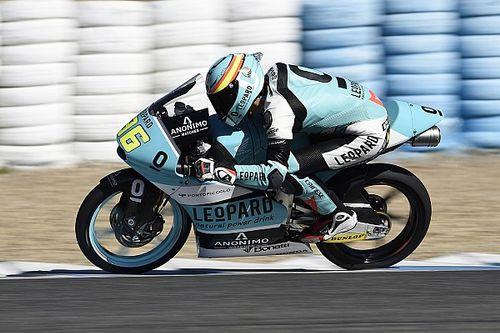 Mir meldt zich aan kop in tweede training op Jerez