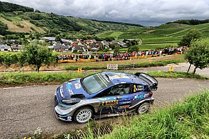 WRC Leg report Germany WRC: Tanak takes 21-second lead into final day
