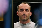 Assessing Kubica injuries the main focus of F1 test - Williams