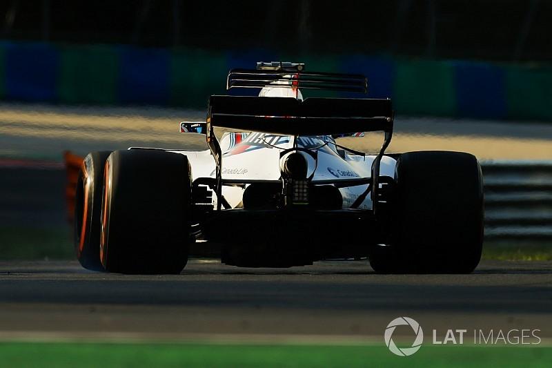 Test Hungaroring: la Williams prova il nuovo cambio in carbonio!