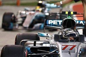 Hamilton: Bottas menjaga saya untuk tetap fokus