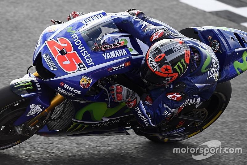 """Viñales: """"Rossi es un mago del agua; si estoy delante de él es que hice un buen trabajo"""""""