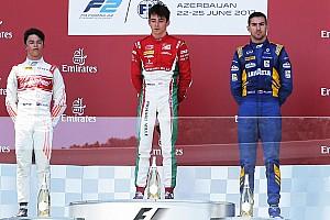 FIA F2 Race report Baku F2: Leclerc wins as race ends with track blockage