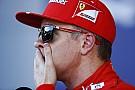 Óriási: Räikkönen üvöltözik a Ferrarival a rádióban a kormány miatt