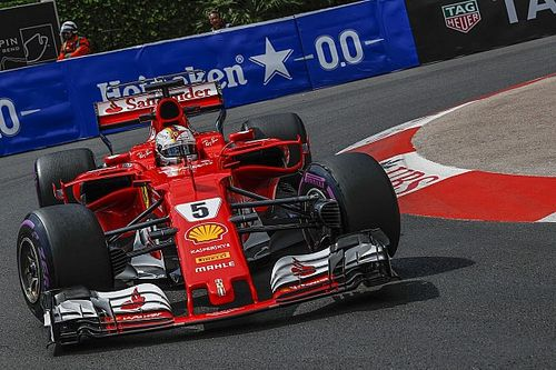 Monaco GP: Dominant Vettel leads Ferrari 1-2 in FP3