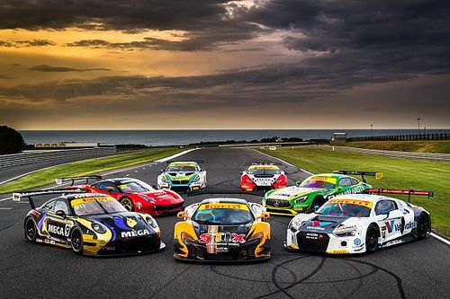 Australian GT combines sprint/endurance schedules for 2018