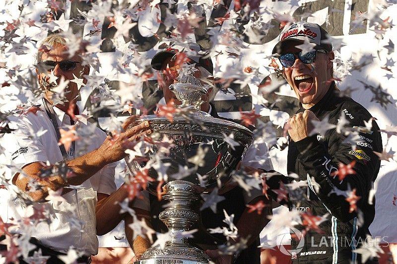 Ньюгарден стал новым чемпионом IndyCar