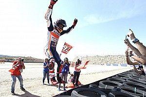 Fim de semana teve volta de Rossi e vitória de Márquez