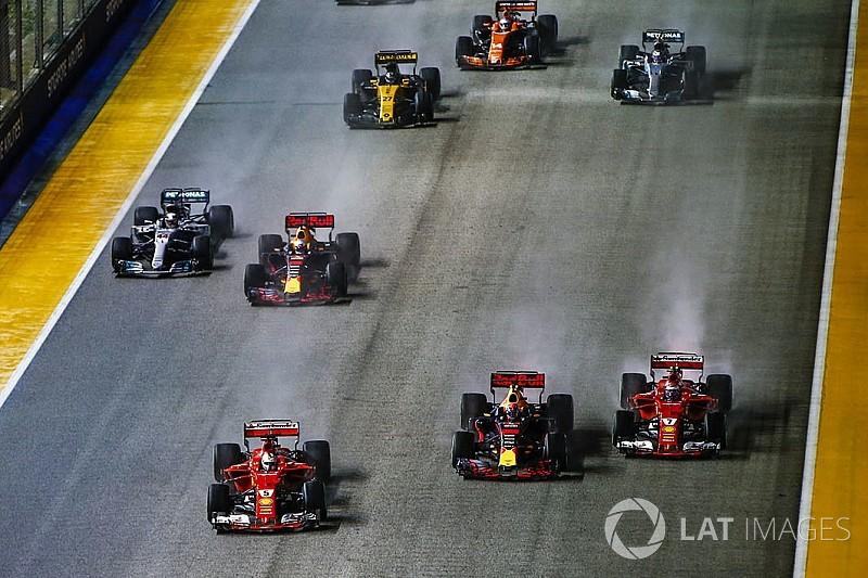 """Hamilton: """"Vettel non vedeva Max perché era nel suo punto cieco"""""""