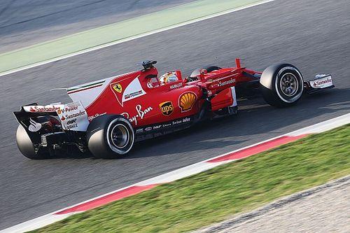 Феттель стал лучшим в первой сессии тестов. У McLaren и RBR проблемы
