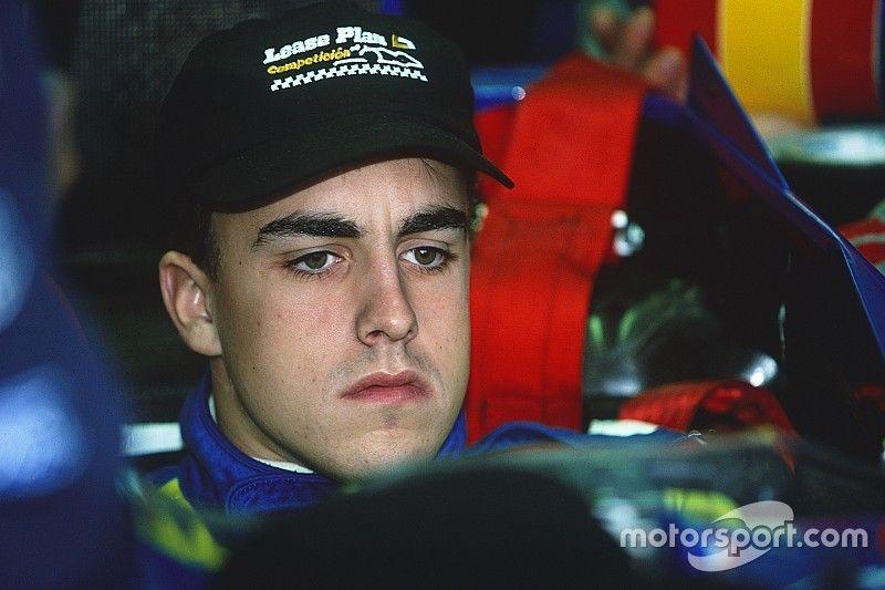 Nosztalgia: Fernando Alonso első F1-es tesztje