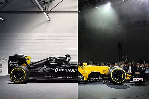 Renault R.S. 17 - RS16 karşılaştırması