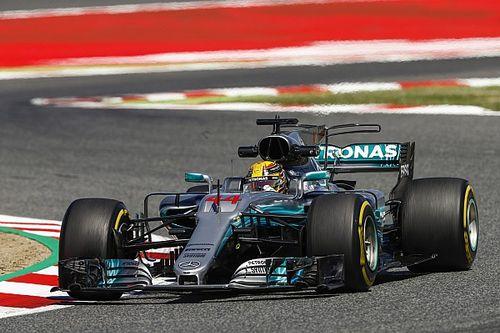 Hamilton bate Vettel e larga na pole na Espanha; Massa é 9º