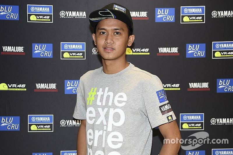 Anggi Setiawan mulai program Yamaha VR46 Master Camp