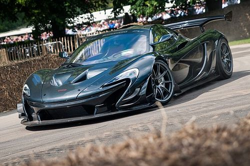 See McLaren P1 LM set Goodwood record run from Brack's view