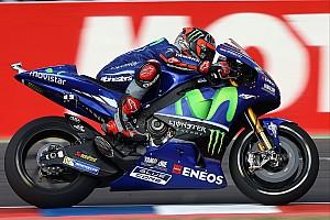 MotoGP Practice report Argentina MotoGP: Vinales fastest in FP1, Marquez crashes