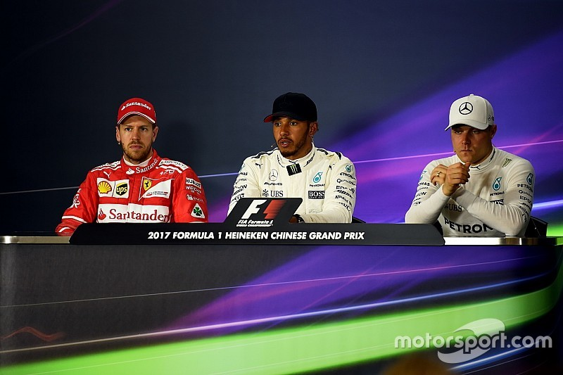 Chinese GP: Post-qualifying press conference
