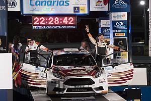 ERC Отчет о гонке Лукьянюк выиграл Ралли Канары