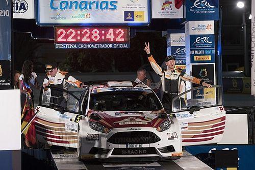 Alexey Lukyanuk è impeccabile, il Rally Islas Canarias è suo
