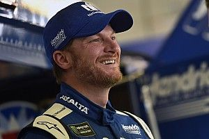 """Dale Jr. says he's already """"overachieved"""" this weekend at Atlanta"""