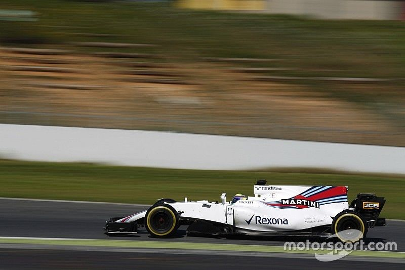 Barcelona F1 test: Massa and Williams end Tuesday out front