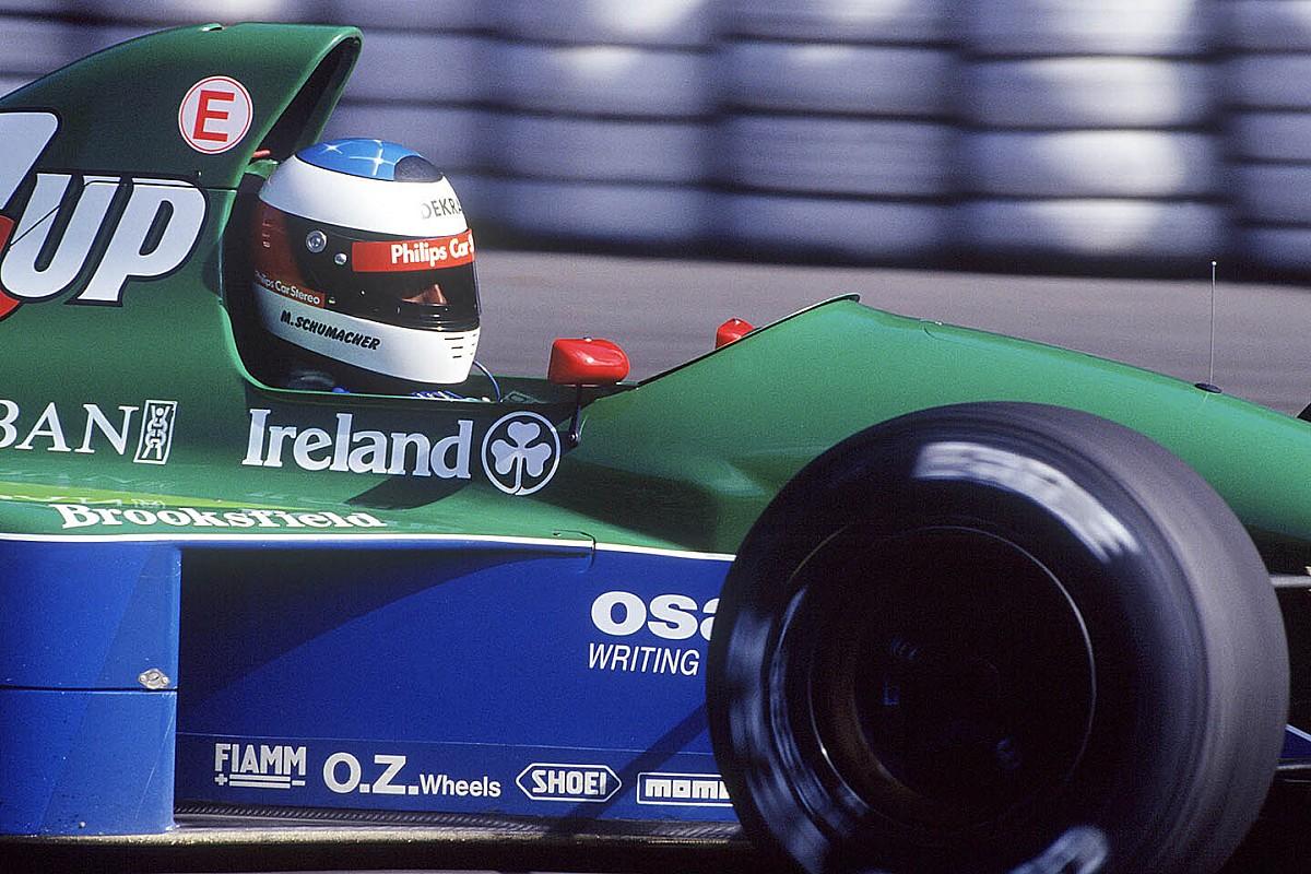 Special: Schumachers eerste Formule 1-test