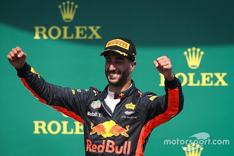 """Ricciardo: """"A volte serve la fortuna, ma io so sfruttarla"""""""