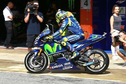 Rossi pakai sasis baru Yamaha di Assen