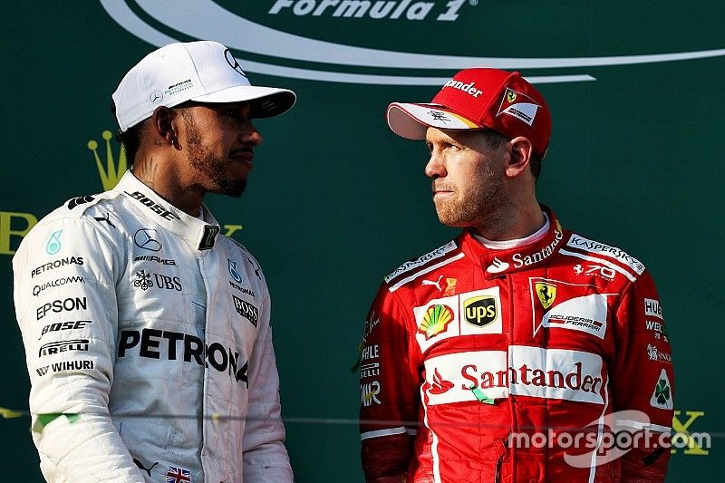 Vettel y Hamilton disfrutarían luchando por el título entre sí