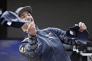"""""""Just have fun"""" – Ricciardo's personal message to Rullo"""