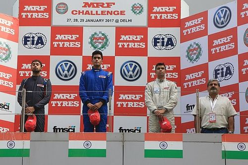 Buddh MRF F1600: Chatterjee outduels Reddy to win final race