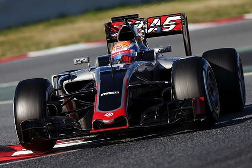 """Steiner hails """"best day"""" of testing for Haas"""