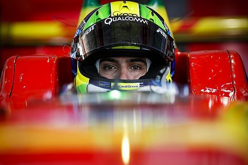 Lucas di Grassi focus on podium sequence