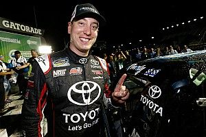 Kyle Busch plays spoiler at Chicagoland as Chase field is set