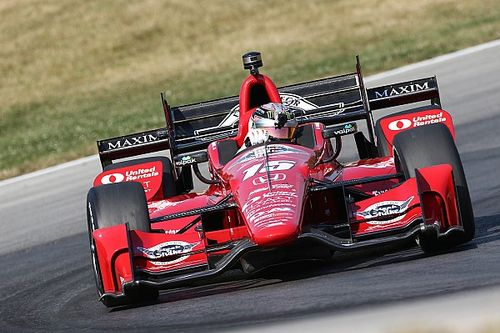 "Rahal: ""It's an uphill battle on a one-car team"""