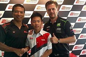 SIC Racing Team resmi rekrut Sasaki untuk Moto3 2017