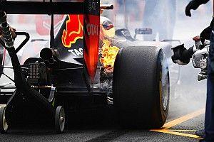 メキシコGP FP1:ハミルトンが首位でフェラーリ2&3位。フェルスタッペンはブレーキが発火