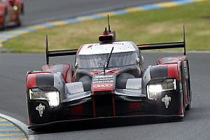 Positions three and four for Audi at Le Mans