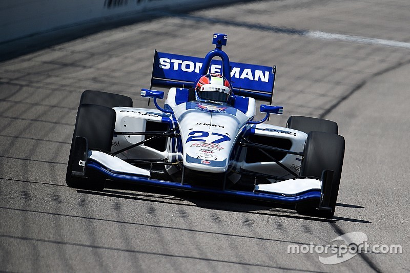 Stoneman tops Indy Lights practice at Iowa