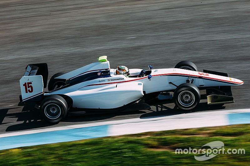 Raghunathan targets podiums in rookie GP3 season