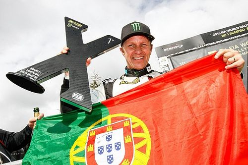 Portugal WRX: Solberg wins, Loeb fifth on debut