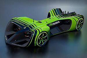 Roborace Breaking news Roborace reveals size of driver-less racecars and AI partner