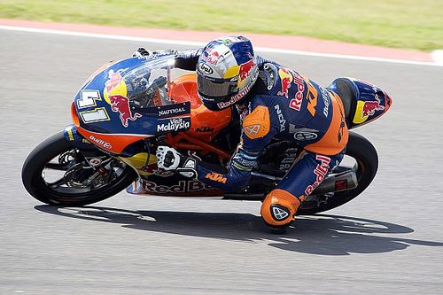 Argentina Moto3: Binder beats Fenati to take maiden pole