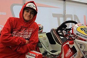 Promessa no kart, Collet busca evolução em equipe de ponta